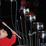 3-percussion bois métal - installation interactive médiathèque