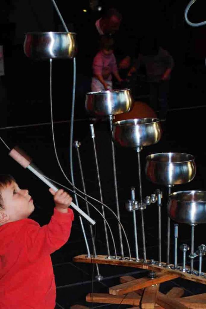 art et science exposition interactive