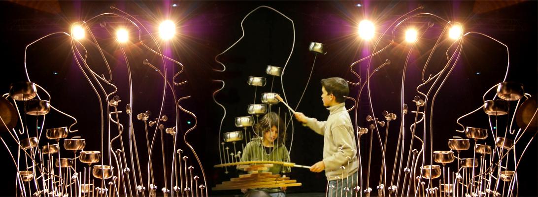des sculptures musicales interactives